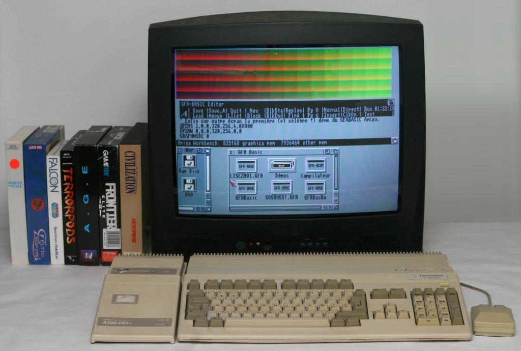 Color Amiga 500 Plus