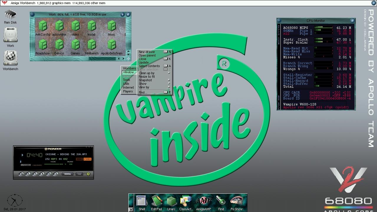 A600 Vampire 2 OS3.9 Part II